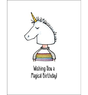 Magical Birthday 5.5 x 4.5|Mark It Proud
