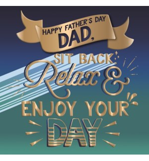 Enjoy Your Day Dad|Ling Design