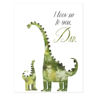 Dino Fathers Day 4.5x5.5 |Loose Leaves