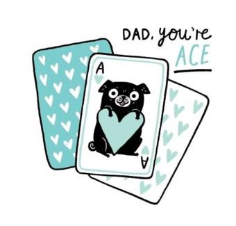 Dad Youre Ace  6x6|0hh Deer