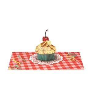 Dahmen Gingham Cupcake box of 6
