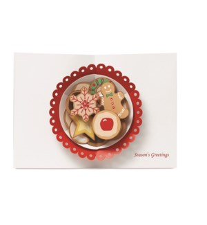 Biederstadt Christmas Cookies box of 8