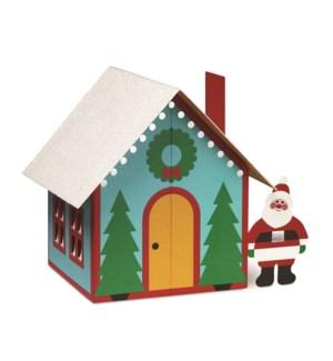 Foose Santa's House box of 8