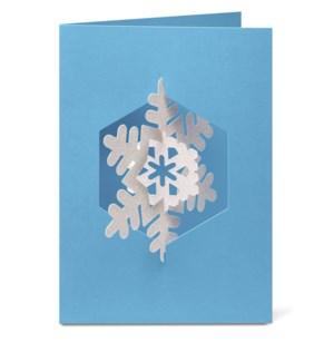 Johnson Spinning Snowflake box of 8