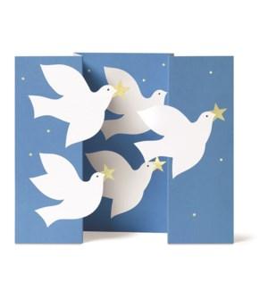 Unosawa Soaring Doves box of 8