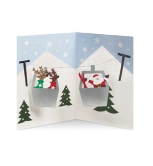 A&B Alpine Reindeer box of 8