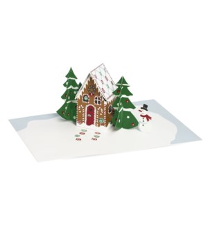 Biederstadt Gingerbread Cabin box of 8