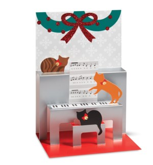 D'Yans Caroling Cats box of 8