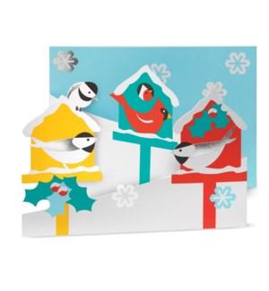 Hucek Merry Birdhouses box of 8