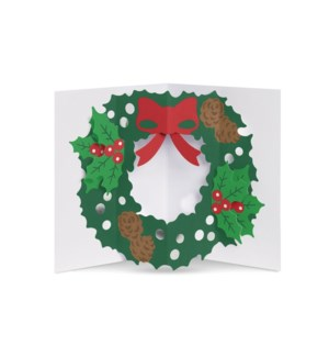 Okamura Holly Wreath box of 8