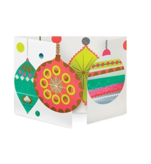 Peagreen Sparkling Baubles box of 8