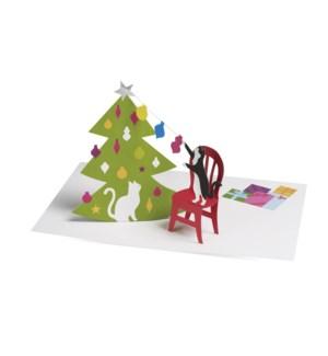 Unosawa Christmas Cats box of 8