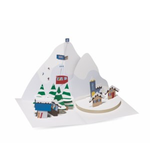 Alpine Village-Boxed Cards  8 cards - AVAIL SEPT 2019