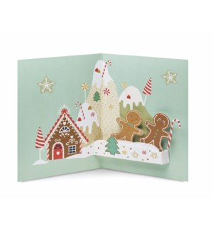 Gingerbread Mountain-Boxed Cards  8 cards - AVAIL SEPT 2019
