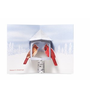 Winter Cardinals-Boxed Cards  8 cards - AVAIL SEPT 2019