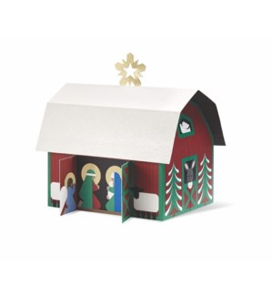 Countryside Nativity-Boxed Cards  8 cards - AVAIL SEPT 2019