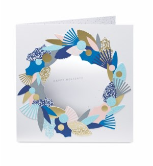 Winter Wreath-Boxed Cards  8 cards - AVAIL SEPT 2019