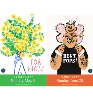 Mother's And Father's Day  Promotional Posters 2021