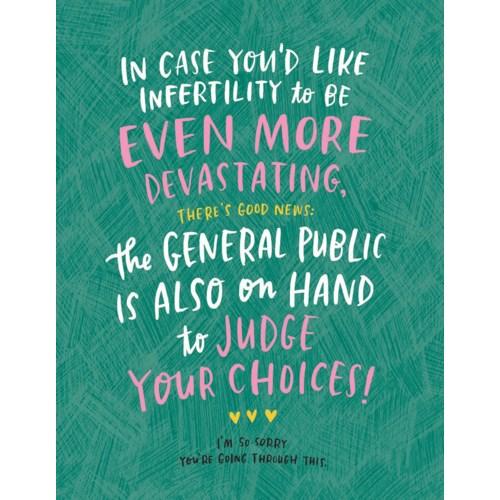 Infertility Judging Empathy Bk|Emily McDowell