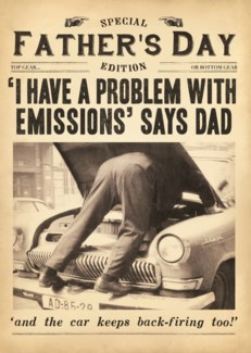 Problem With Emissions 5x7 |Pigment