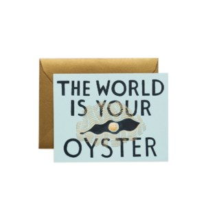 World is Your Oyster|Z