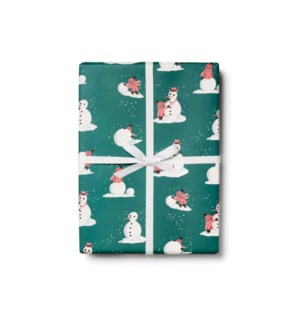 Building Snowman roll - 3 sheets