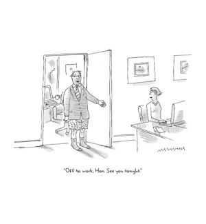 Off To Work Hon|New Yorker