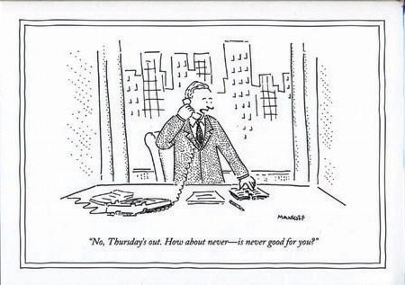 How about never 5x7|New Yorker