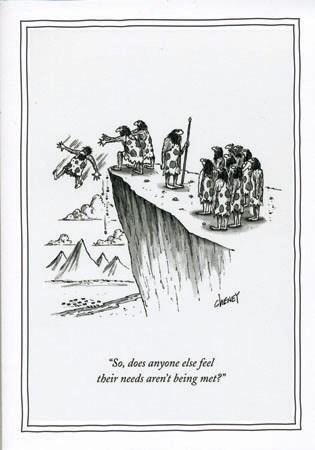 Needs aren't being met 5x7|New Yorker
