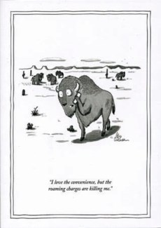 Roaming Charges 5x7|New Yorker