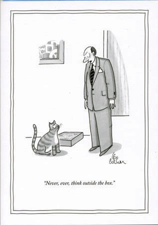Never, ever think 5x7|New Yorker