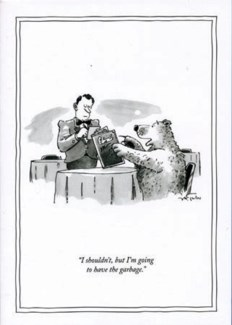 Have the garbage 5x7|New Yorker