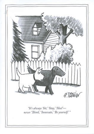 Sit, Stay, Heel 5x7|New Yorker