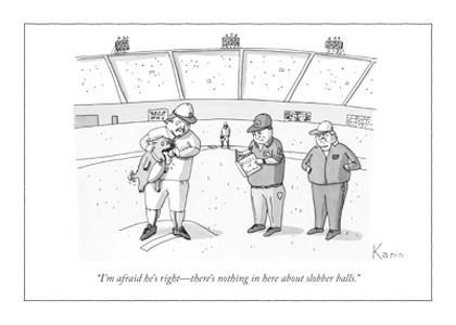 Slobber Balls 5x7|New Yorker