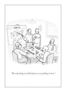 The Only Thing 5x7|New Yorker