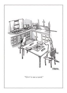 Pet Games 5x7|New Yorker