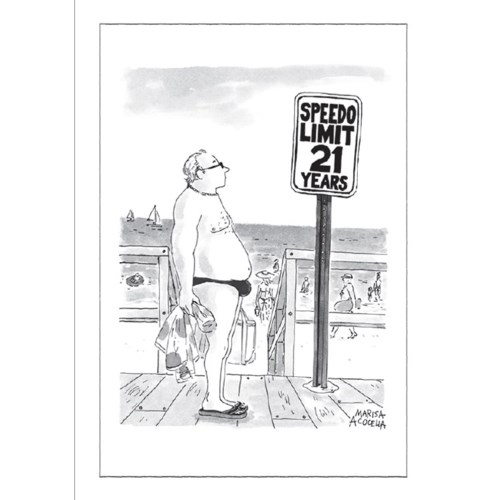 Speedo Limit|New Yorker