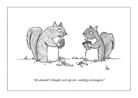 I Thought We'd Agreed 5x7|New Yorker