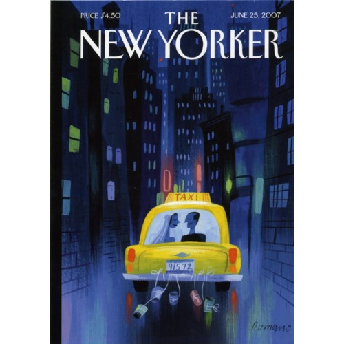 Wedding Taxi 5x7|New Yorker