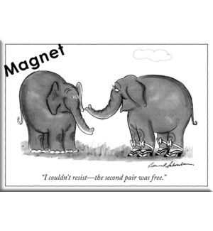 2Nd Pair Free - Ny'Er Hard Magnet