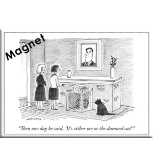 It'S Either Me Or The Cat - Ny'Er Hard Magnet