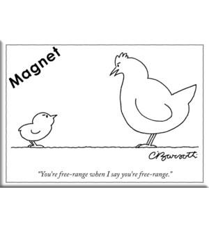 Free Range - Ny'Er Hard Magnet