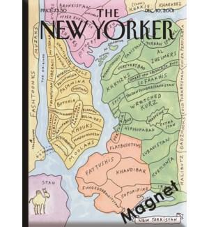 New Yorkistan - Ny'Er Cvr Hard Magnet