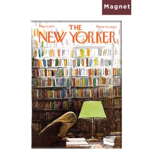 Late Night At Library- Nyer Hard Magnet