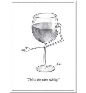 Wine Talking- Ny'Er Cvr Hard Magnet