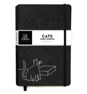 The New Yorker Cats Lined Journal