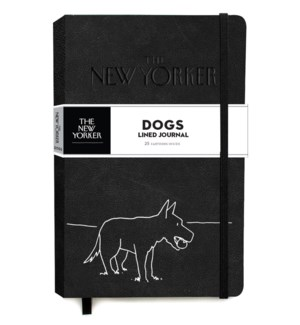 The New Yorker Dogs Lined Journal