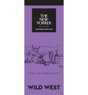 Wild West - New Yorker Notepad