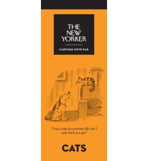 Cats - New Yorker Notepad