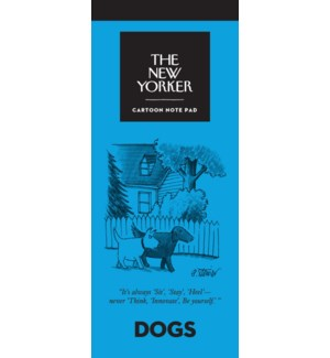Dogs - New Yorker Notepad